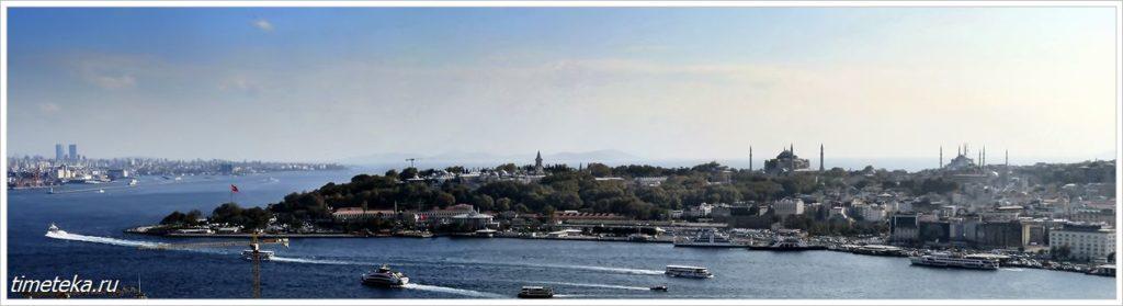 Панорама мсторической части Стамбула