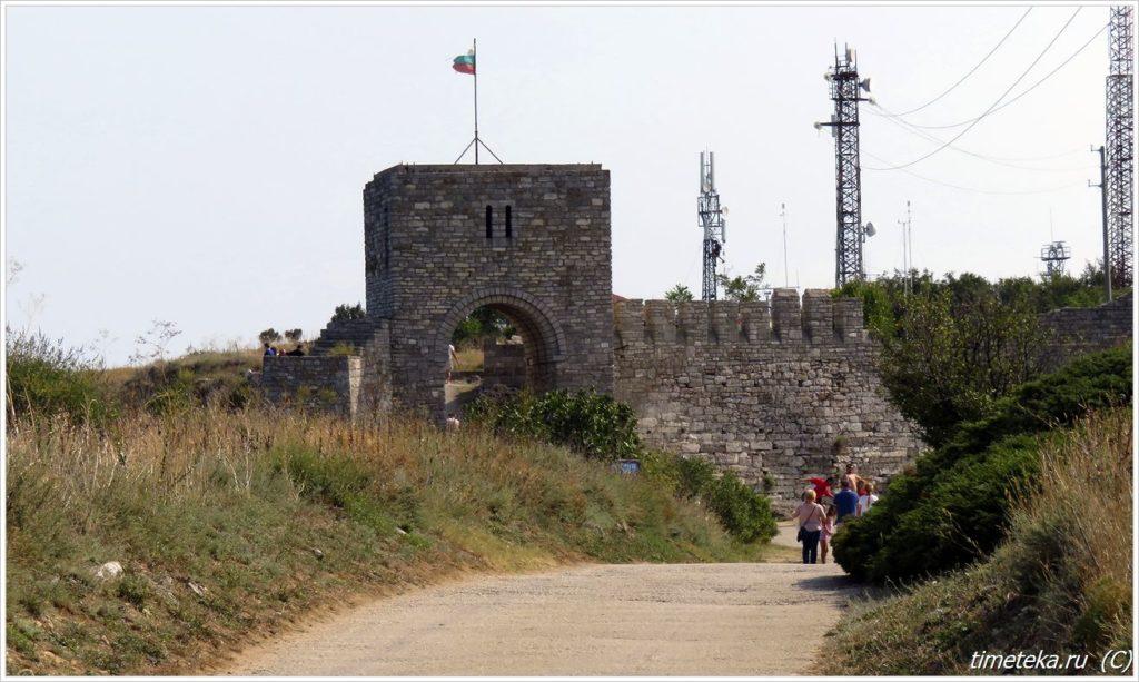 Башня Калиакры - вход в старую крепость