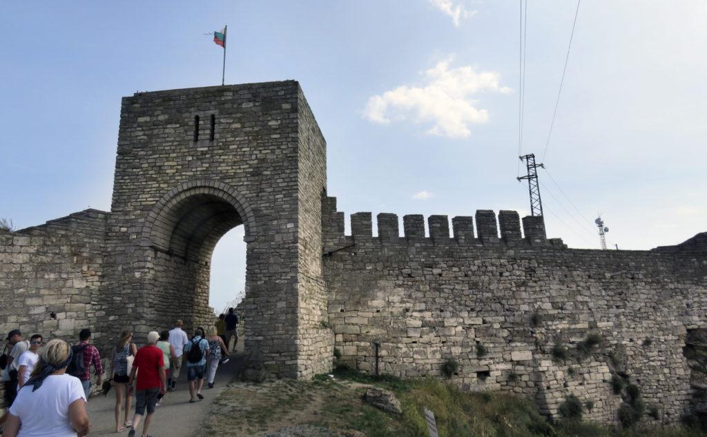 Вход в старую крепость Калиакры