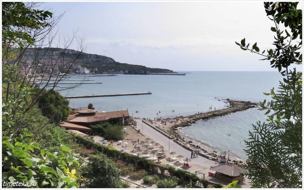 Балчик. Вид на Черное море