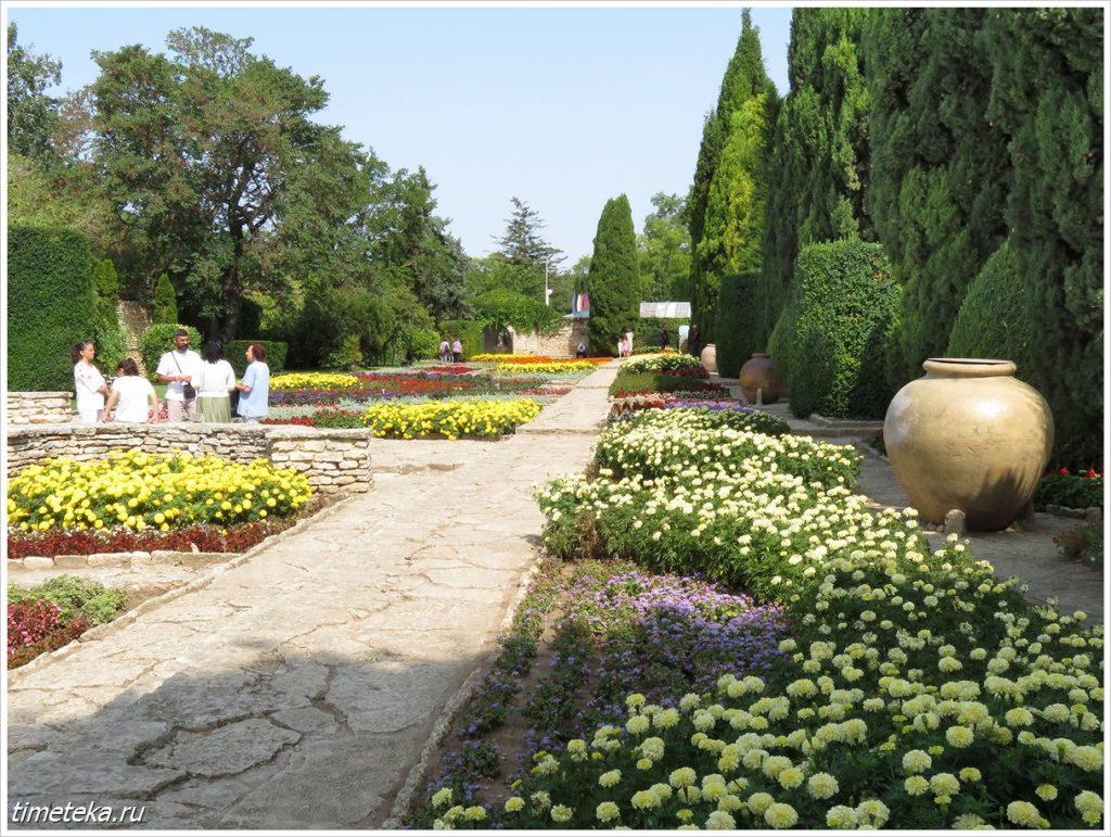 Балчик. В Ботаническом саду