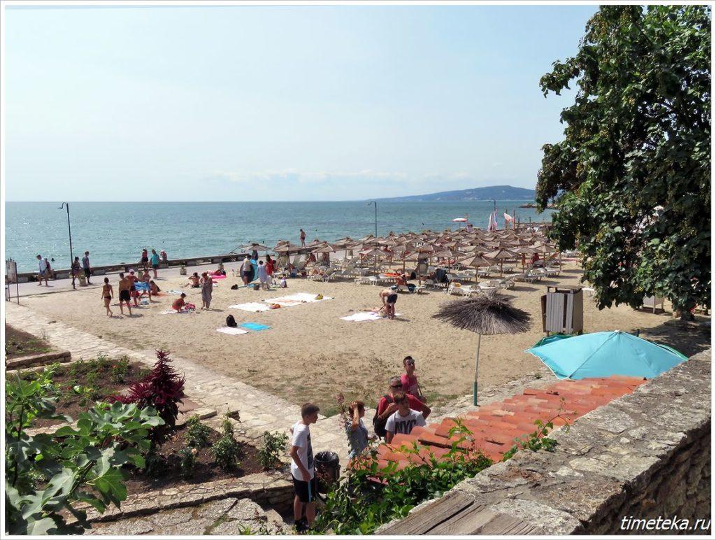 Пляж Балчика
