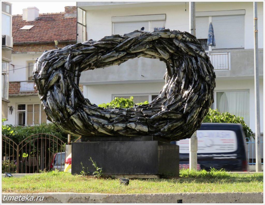Монумент в Царево