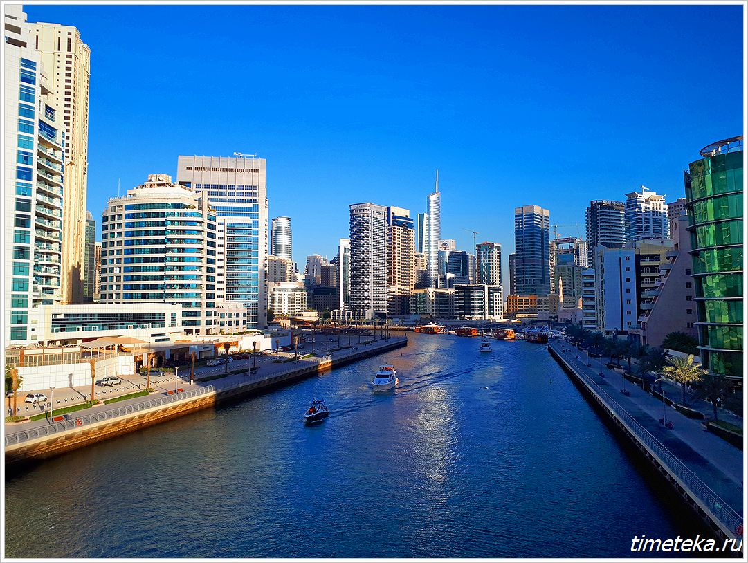 каналы Dubai Marina