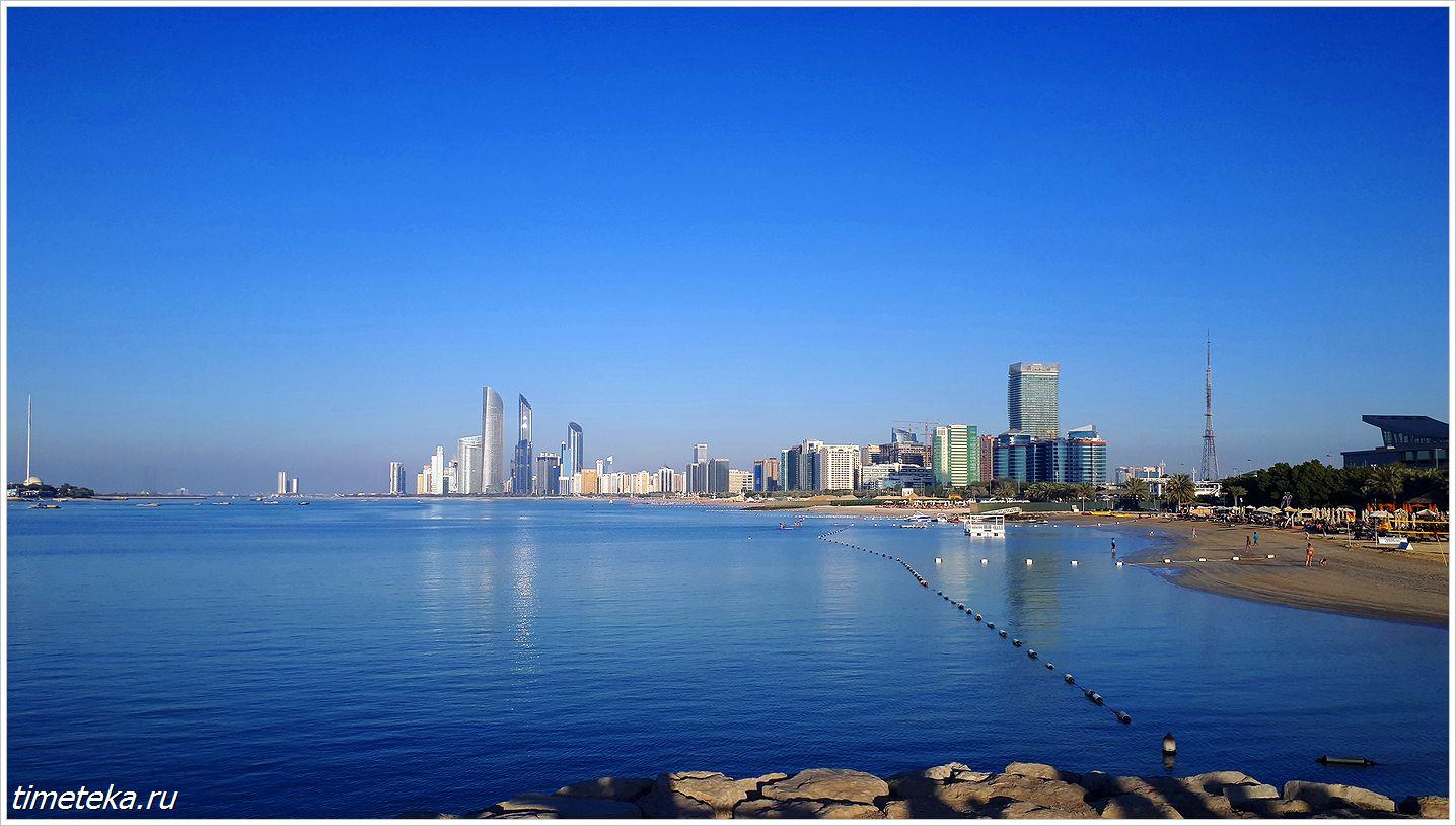 Панорама Абу-Даби