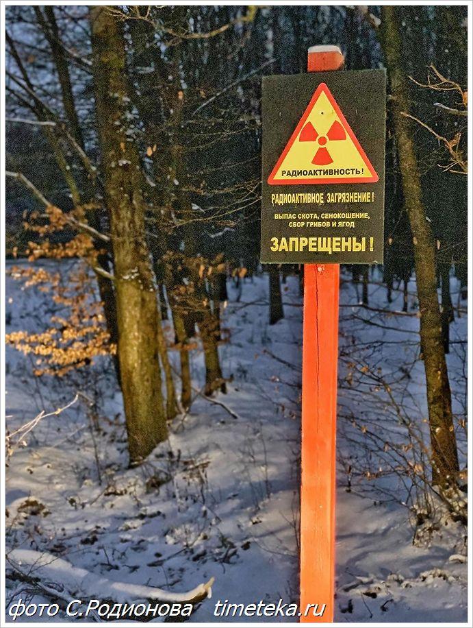 дорога на Чернобыль через д.Гдень