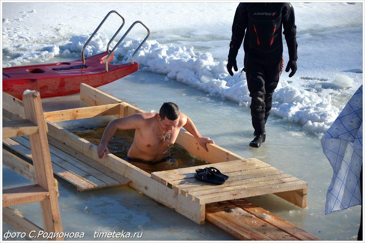 Крещенские купания. Беларусь