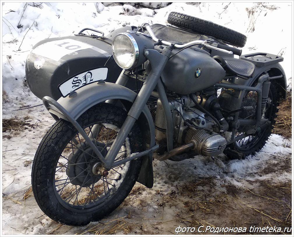 Мотоцикл БМВ