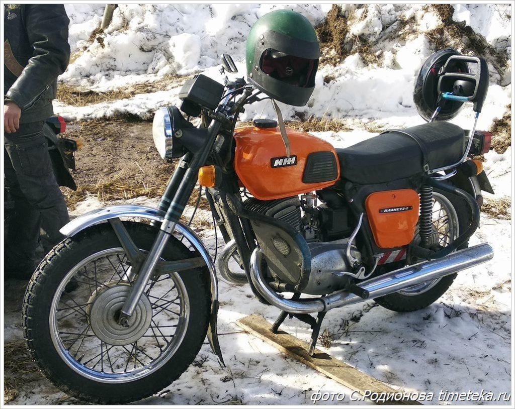 Мотоцикл ИЖ Планета