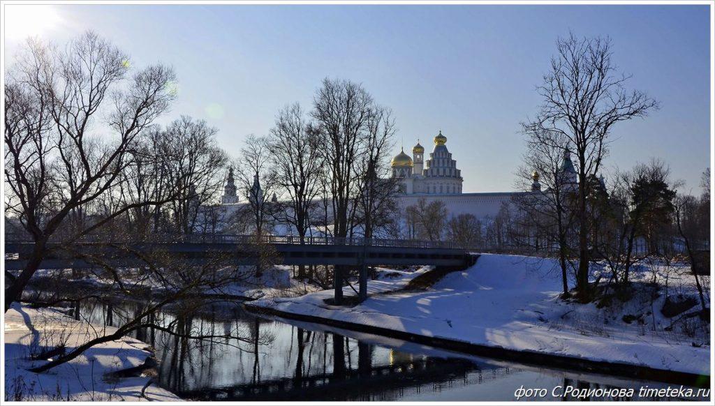 Новоиерусалимский монастырь на реке Истра