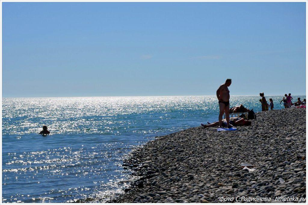 Сочи, пляж