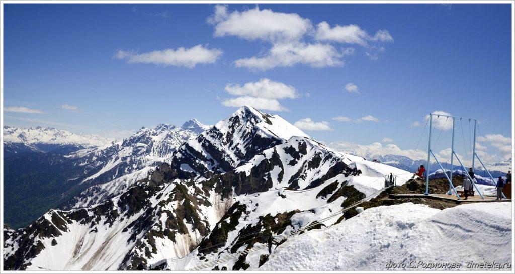 Сочи. Панорама гор