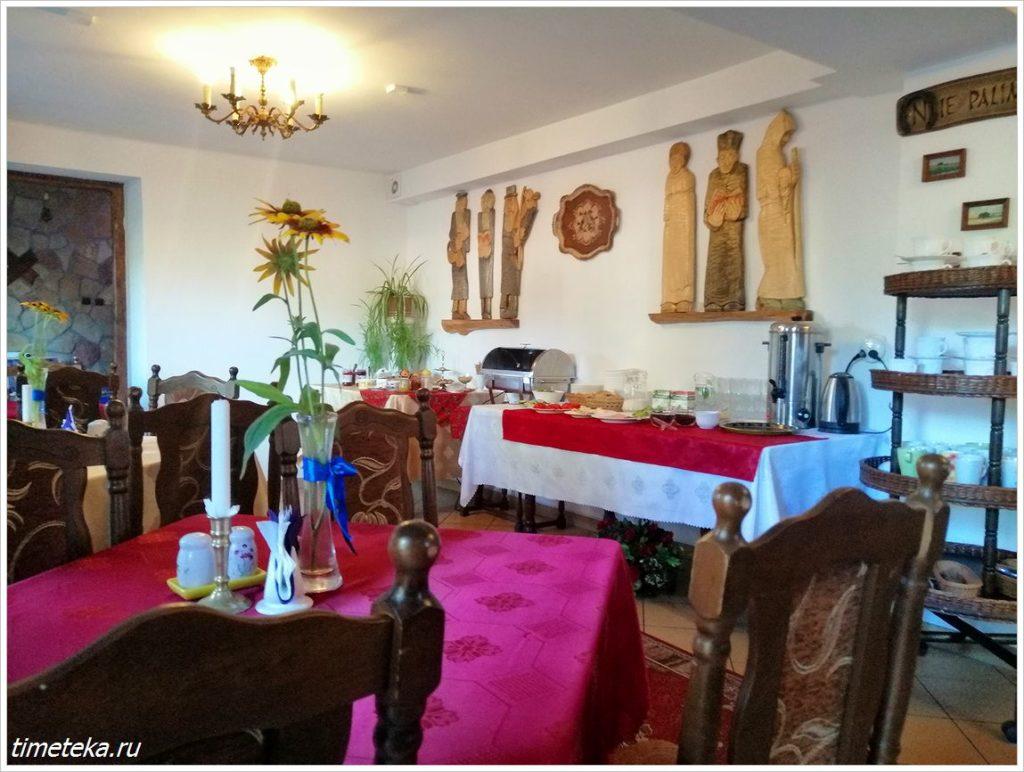 Ресторан в отеле Подкова