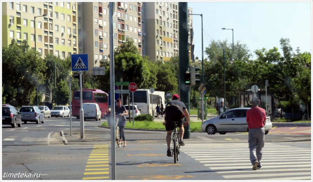 На улицах Сегеда