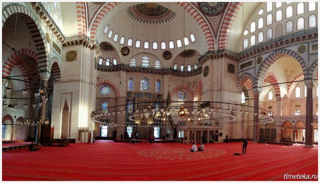 Молельный зал Сулеймание