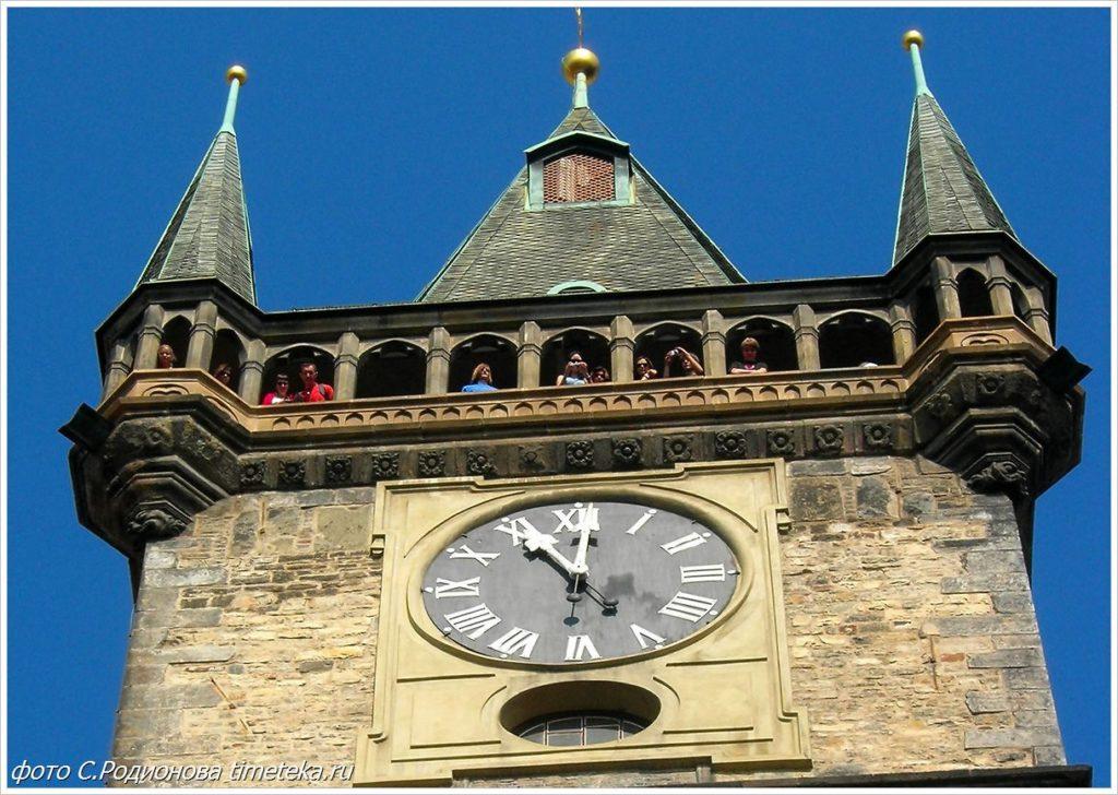 Часы на ратуше. Прага