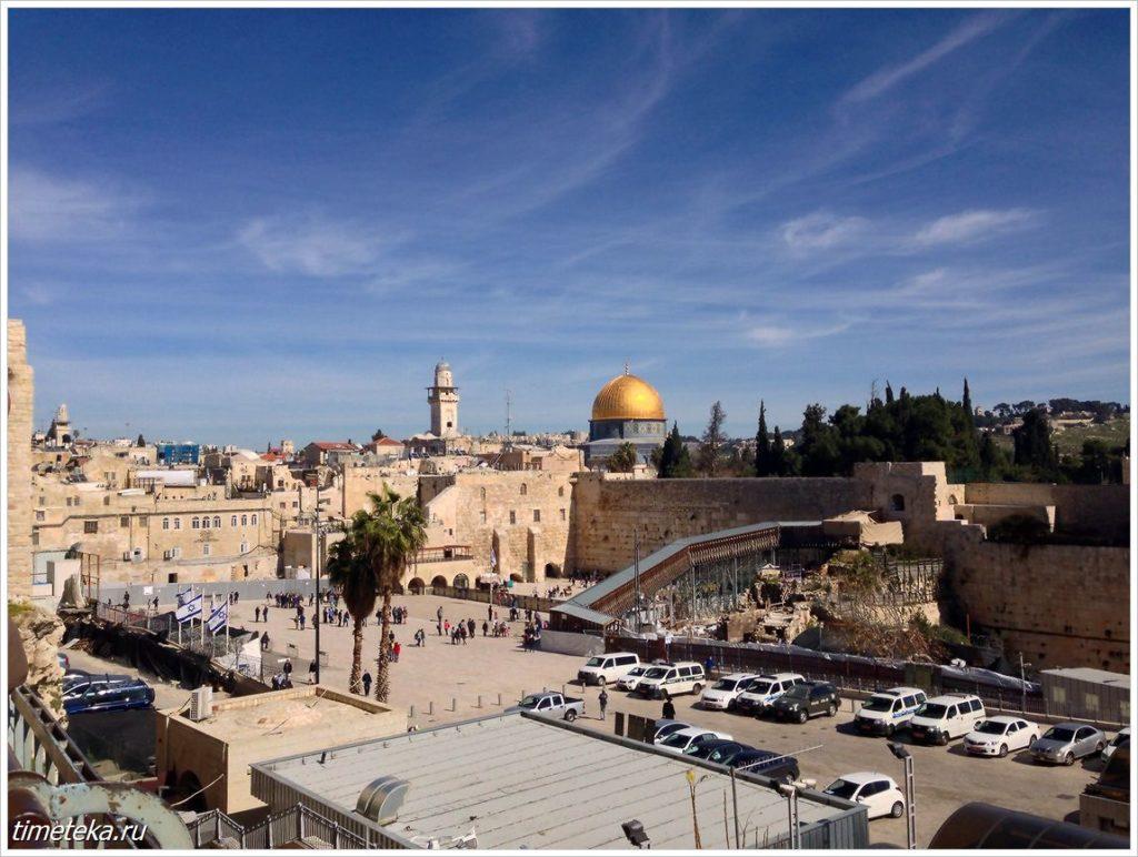 Стена плача. Иерусалим