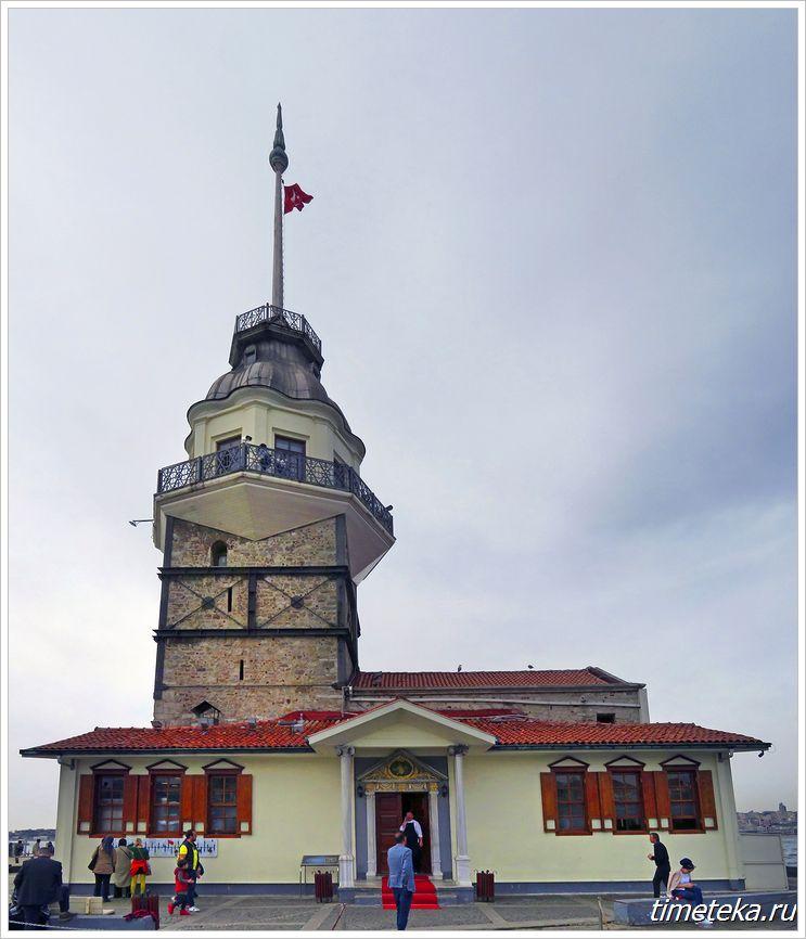 Девичья башня, Босфор, Стамбул