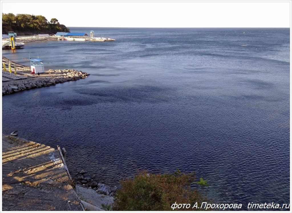 Черное море. Анапа