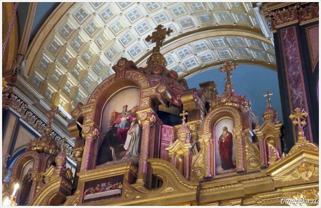 Иконостас храма Святого Стефана