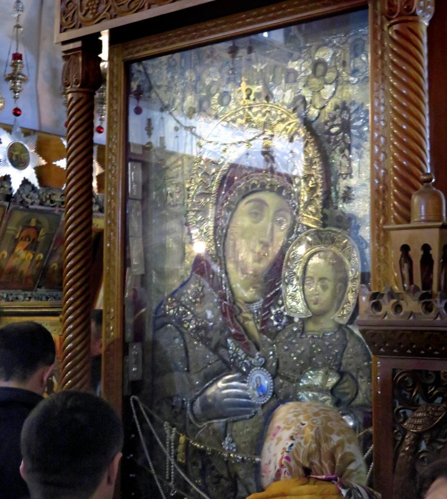 Православная икона Вифлеемской Божьей Матери