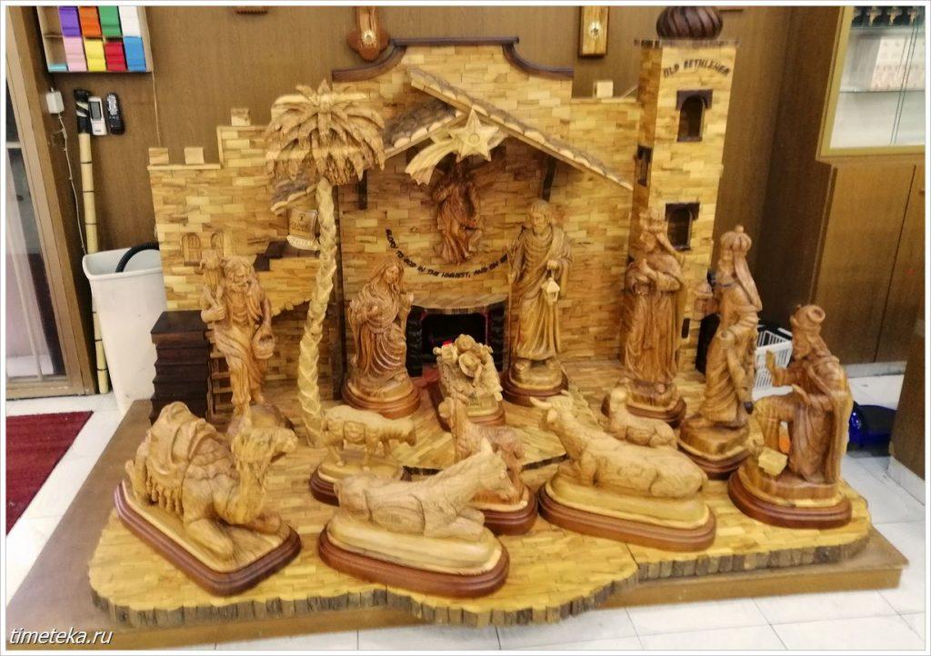 Рождество.Резьба по дереву