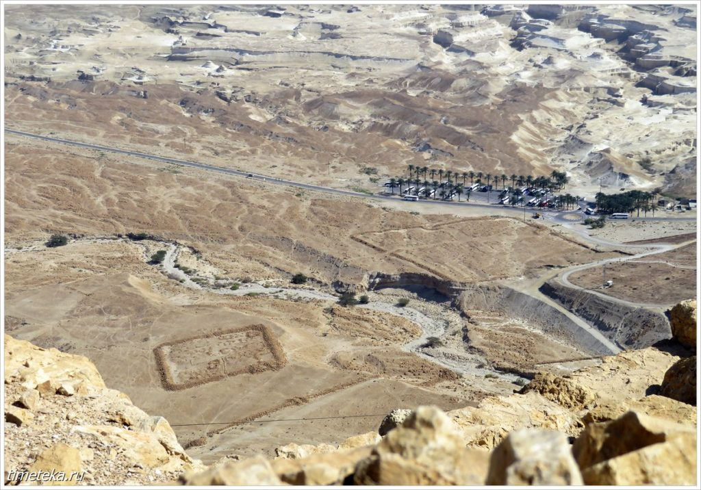 Вид с горы Масада