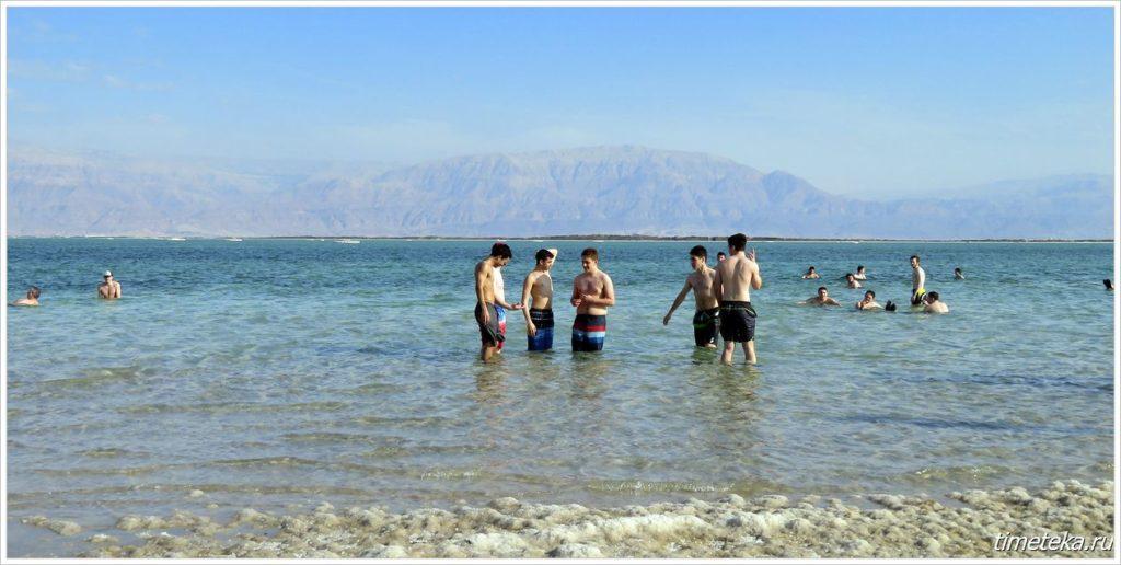 Мертвое море. Февраль