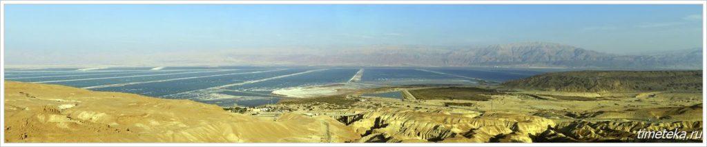 Панорама Мертвого моря