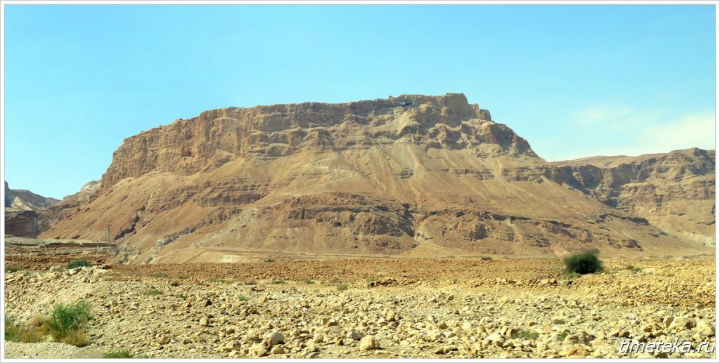 Крепость-гора Масада