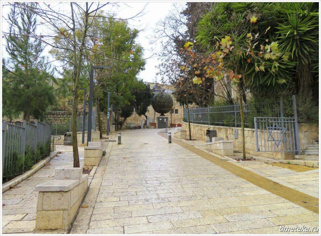 К гробнице царя Давида