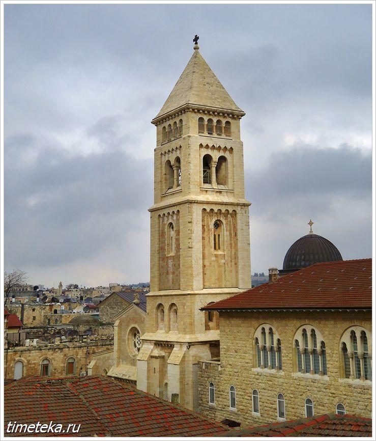 Колокольня лютеранской Церковь Христа Искупителя