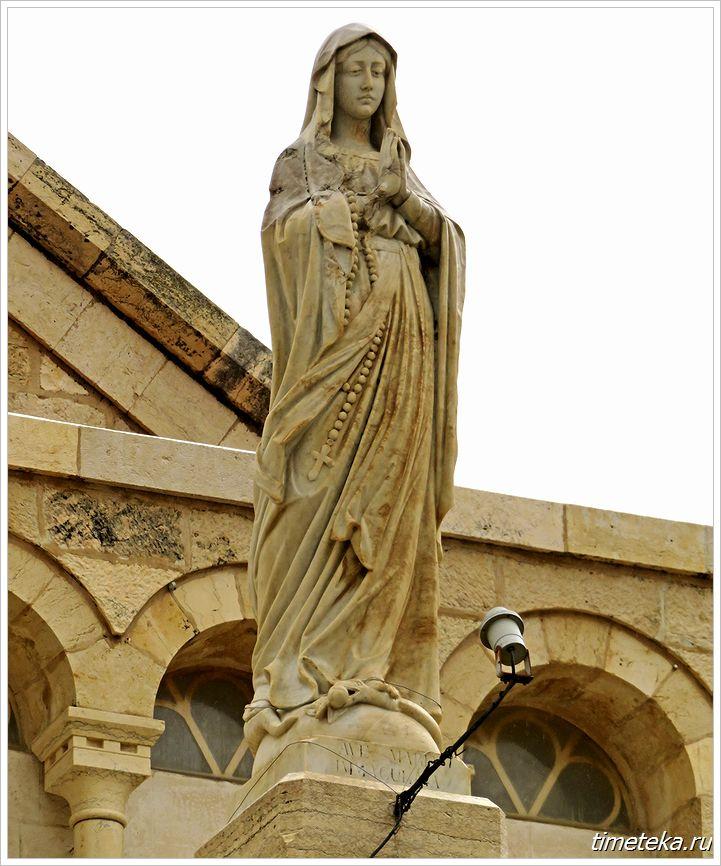 Статуя Святой Екатерины