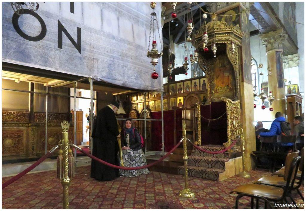 Центральный придел Храма