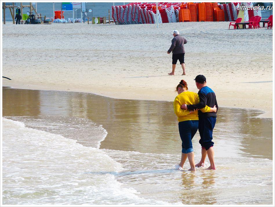 На пляжах Тель-Авива