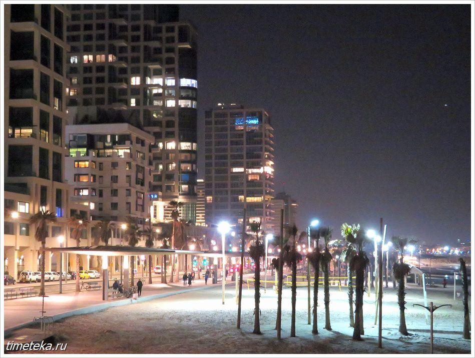 Ночной Тель-Авив
